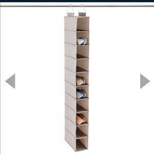 NWOT THE CONTAINER STORE Hanging Shoe Organizer